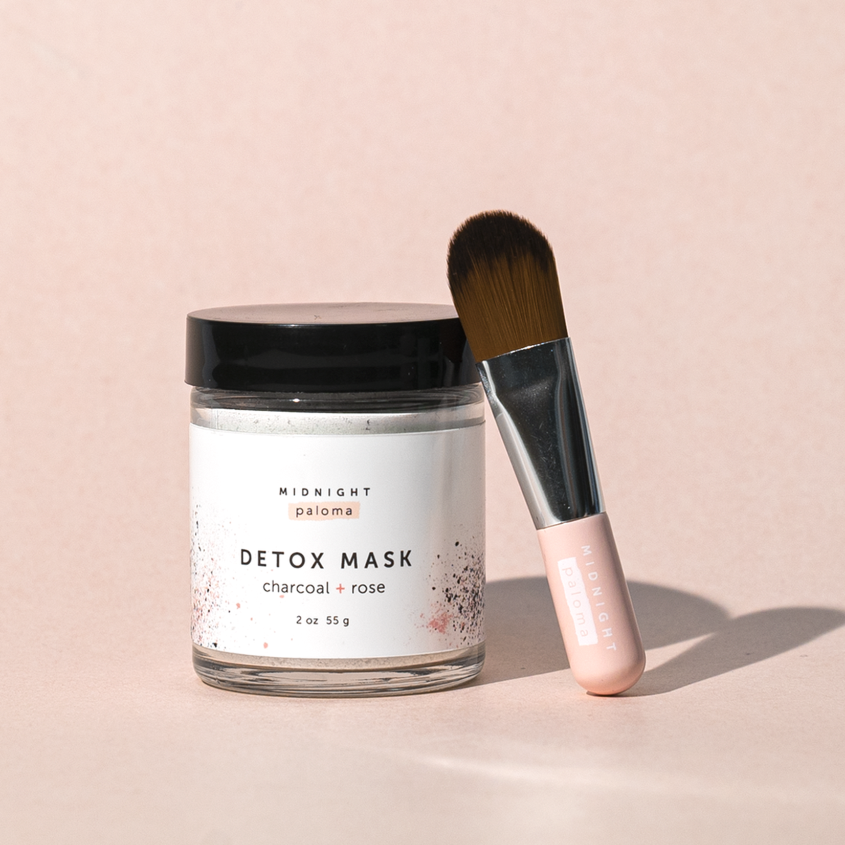Midnight Paloma Detox Mask Charcoal + Rose 55g