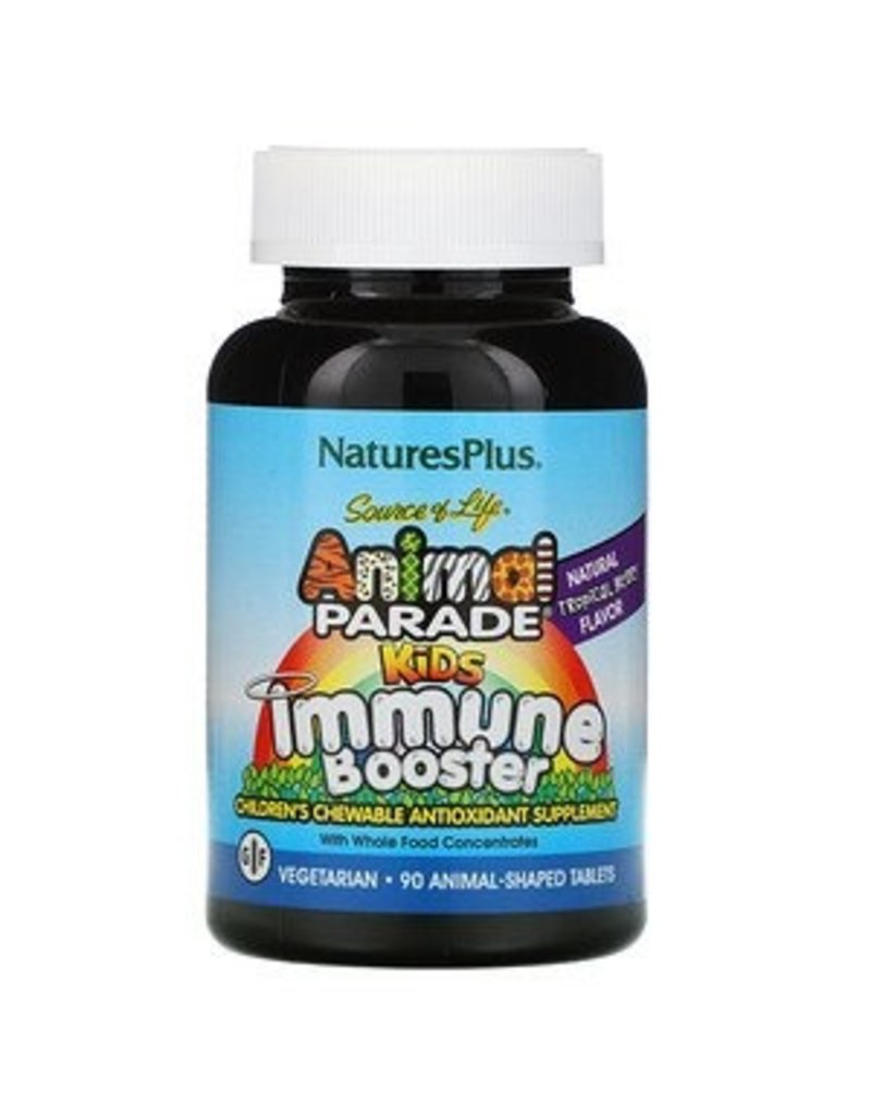 Animal Parade Kids Immune Booster- Tropical Berry 90 chewable tablets