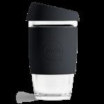 Joco Reusable Glass Cup 16oz Black