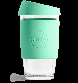 Joco Reusable Glass Cup 16oz Vintage Green