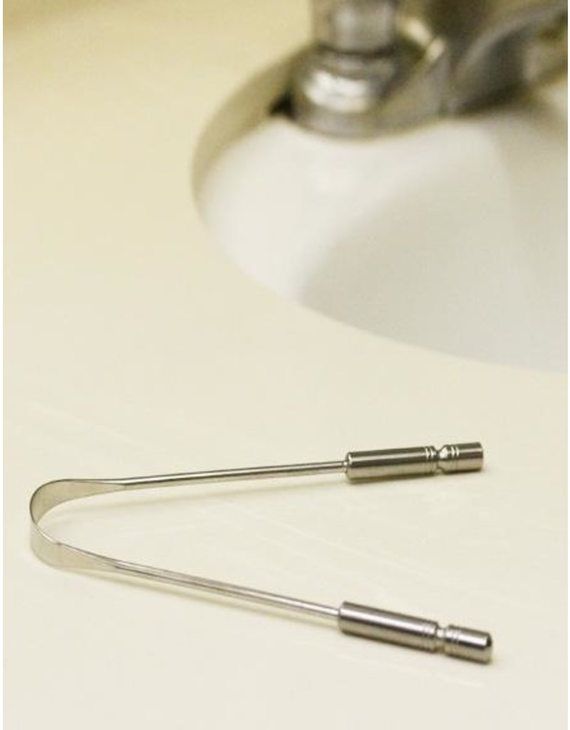 Clean Planetware Stainless Steel Tongue Cleaner