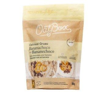 OatBox Dark Chocolate and Banana Oatmeal 300g