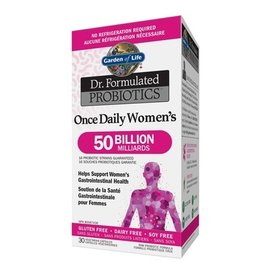 Garden Of Life Dr. Formulated Probiotics Once Daily Women's 50 Billion 30 vcaps