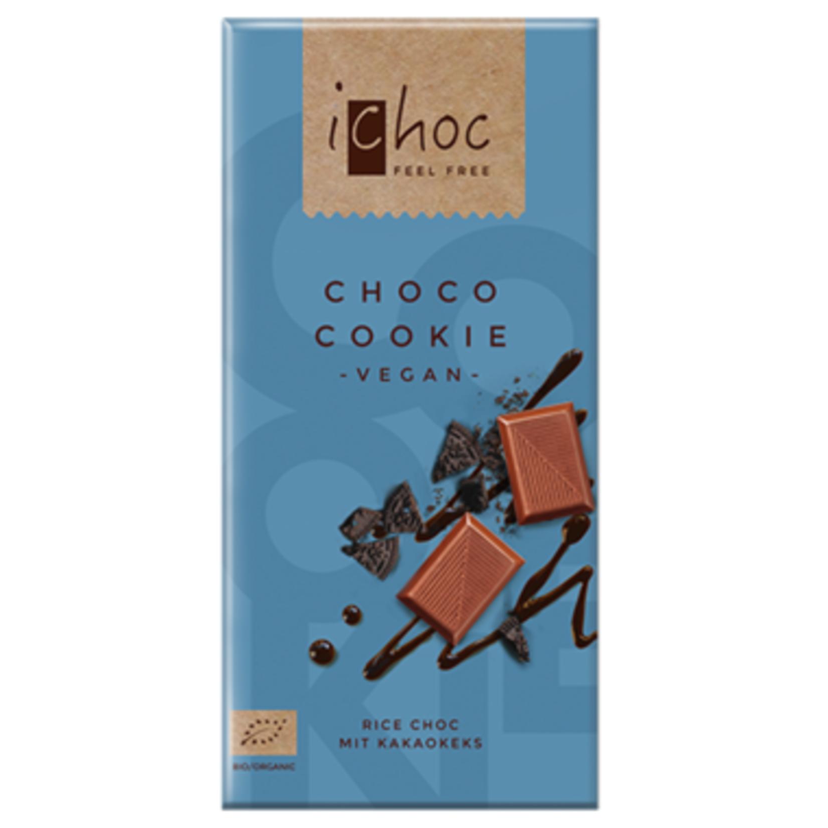 Ichoc Choco Cookie Vegan Chocolate 80g