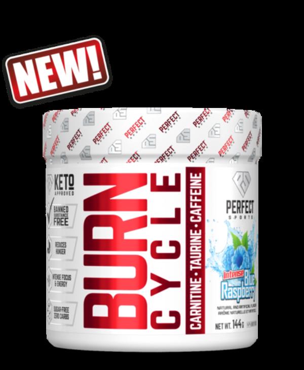 Burn Cycle Intense Blue Raspberry 36 servings