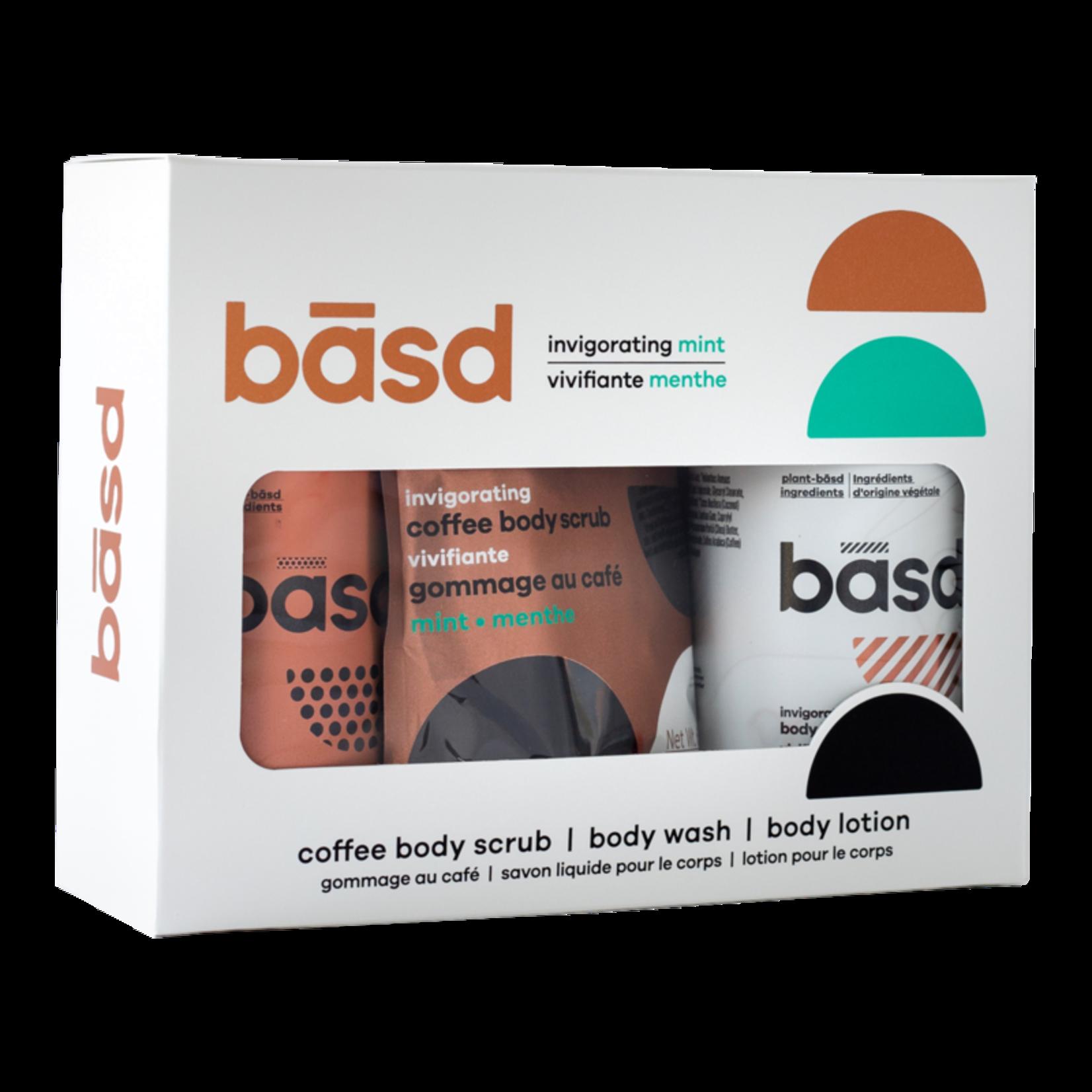 Basd BASD Gift Set- Invigorating Mint