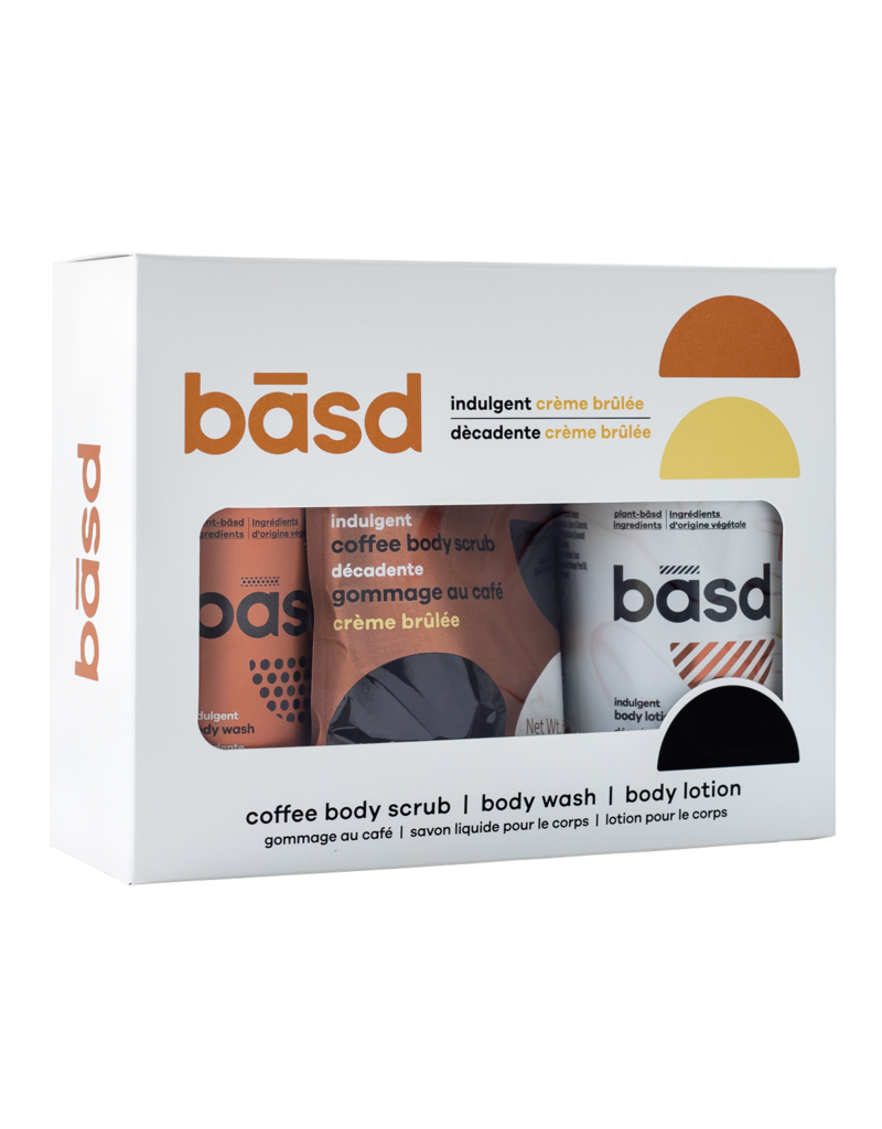 Basd BASD Gift Set- Indulgent Creme Brulee