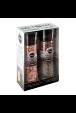 Sunhed Himalayan Salt and Kala Namak Grinders Gift Pack