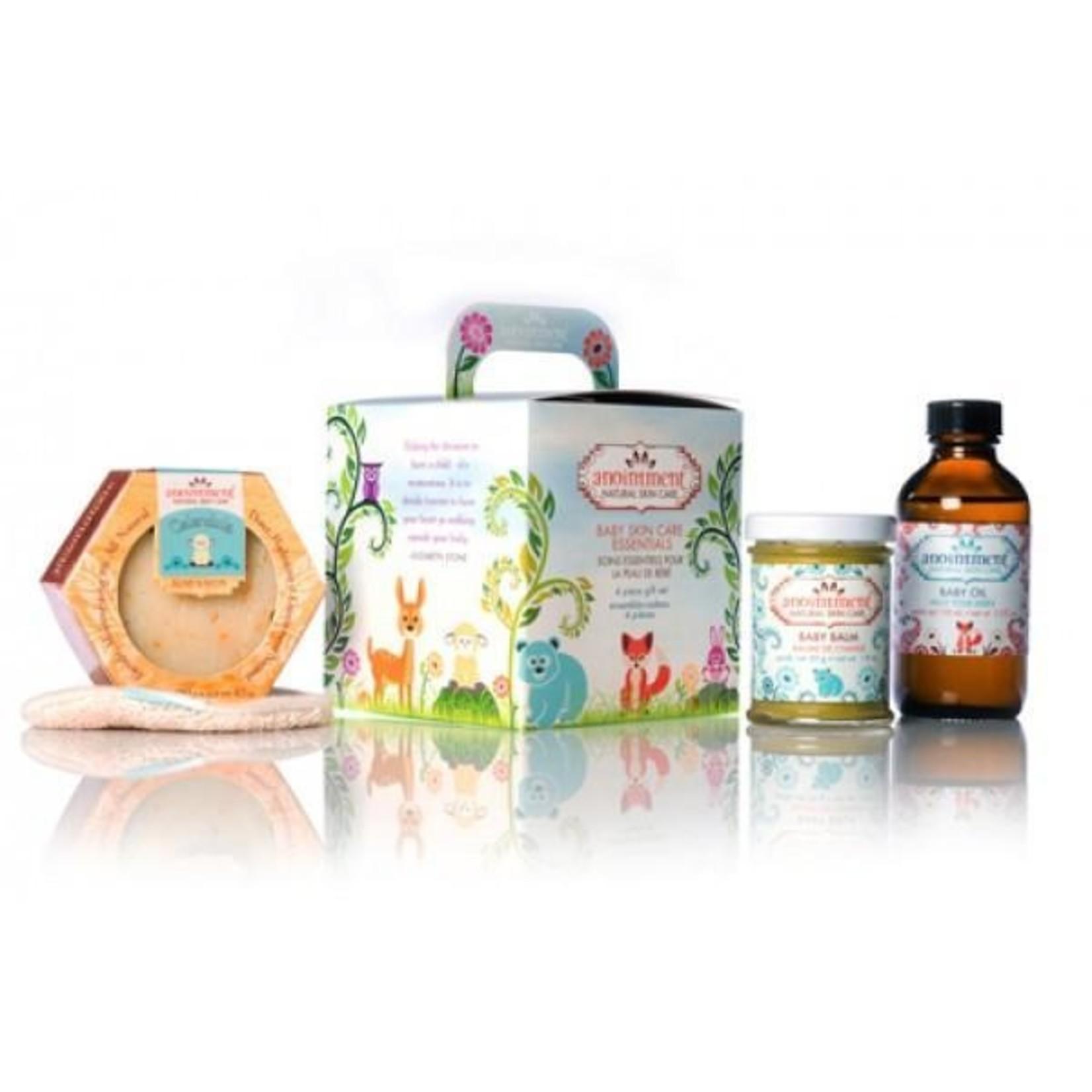 Baby Skin Care Essentials- 4 piece gift set