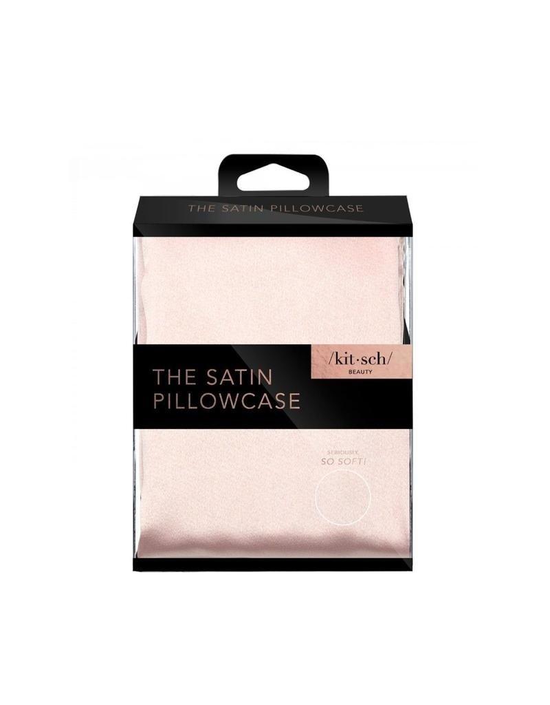 Kitsch The Satin Pillowcase Standard Blush