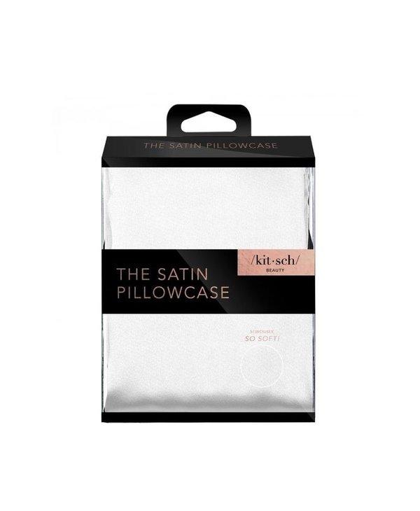 The Satin Pillowcase Standard- Ivory