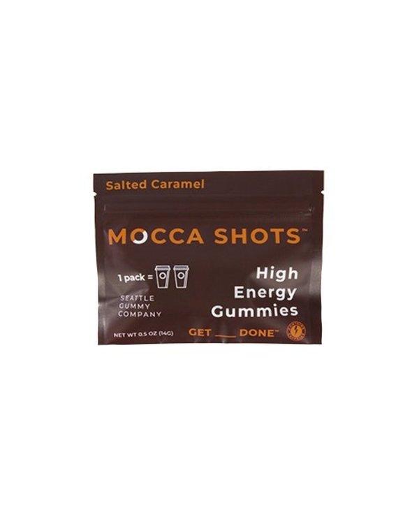 Mocca Shots Energy Gummies - Salted Caramel Chocolate