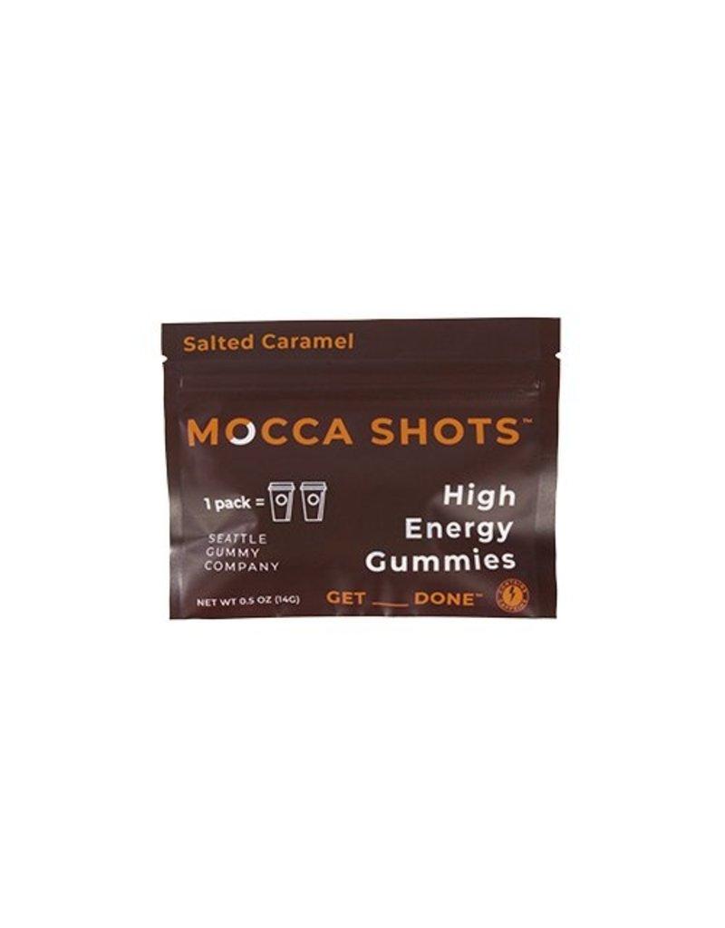 Seattle Gummy Company Mocca Shots Energy Gummies - Salted Caramel Chocolate