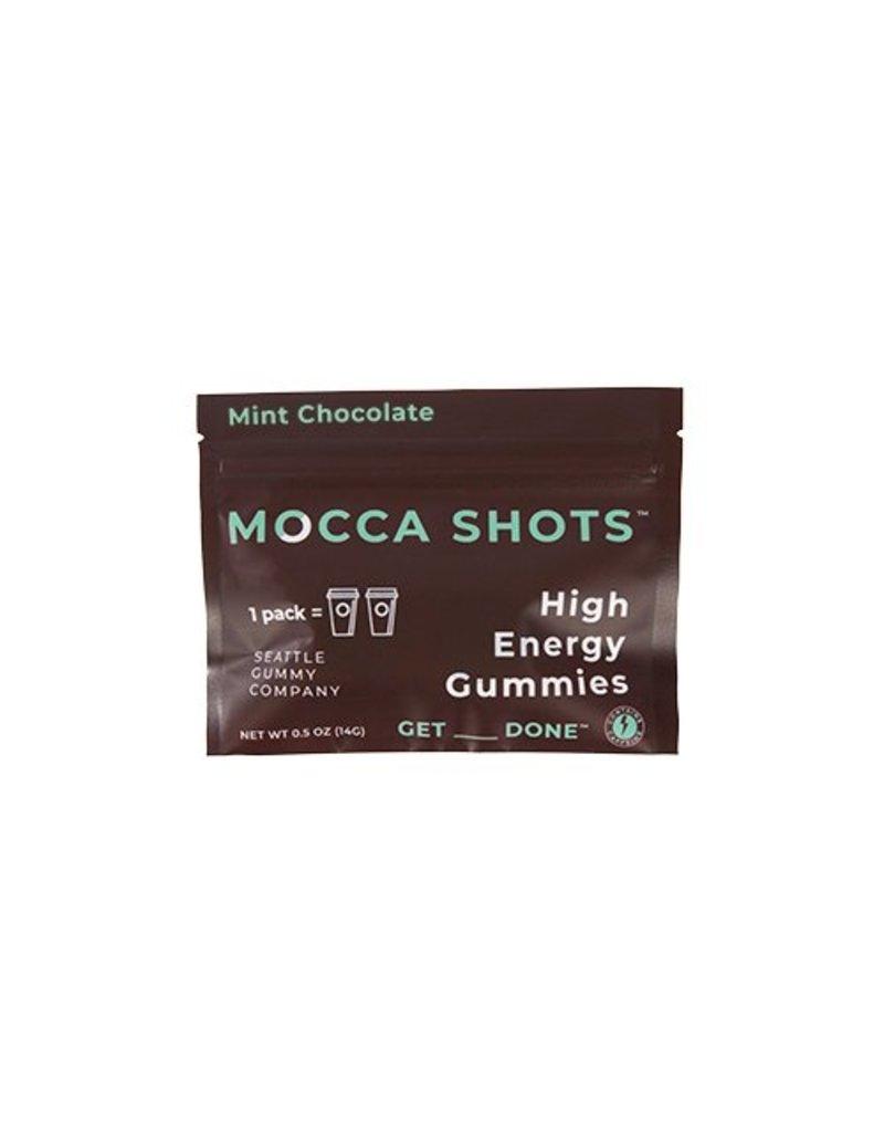 Seattle Gummy Company Mocca Shots Energy Gummies- Mint Chocolate