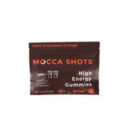 Seattle Gummy Company Mocca Shots Energy Gummies- Dark Chocolate Orange