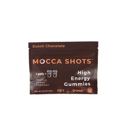 Seattle Gummy Company Mocca Shots Energy Gummies- Dutch Chocolate