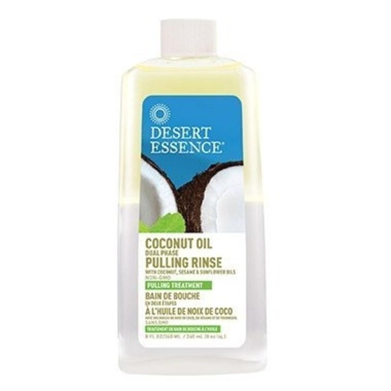 Desert Essence Coconut Oil Dual Phase Pulling Rinse 237ml
