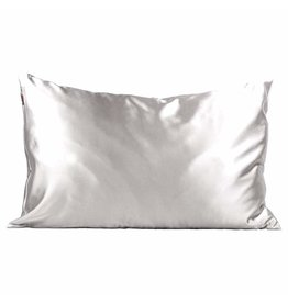 Kitsch The Satin Pillowcase Standard- Silver