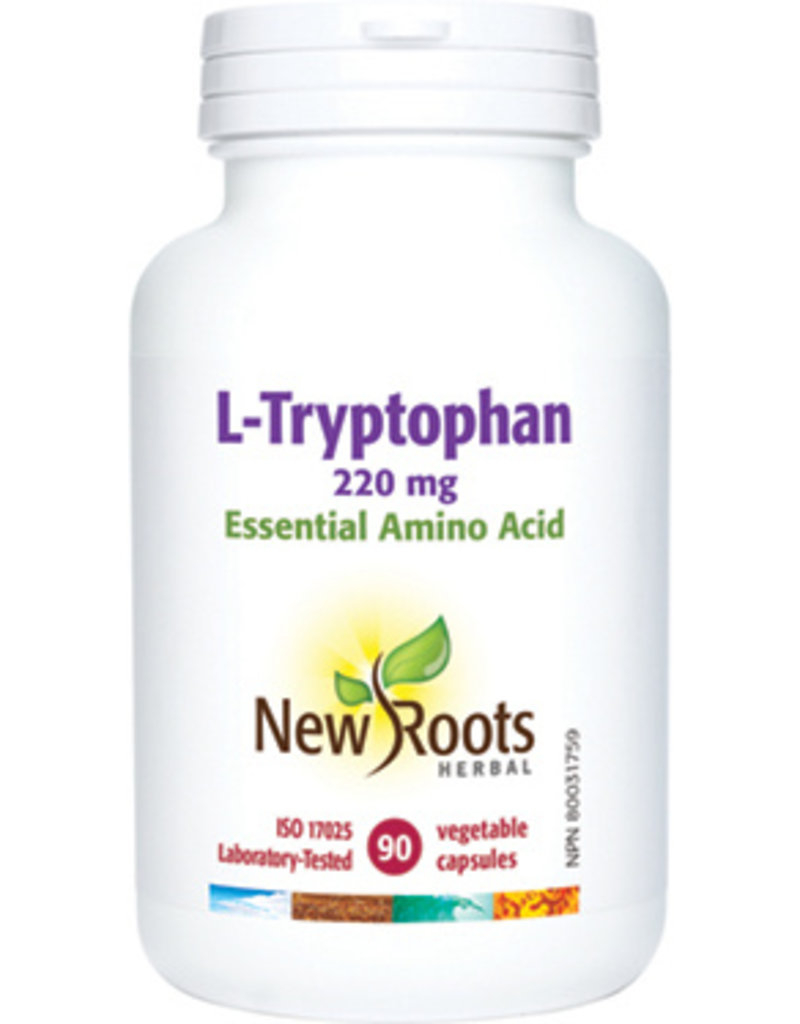 New Roots L-Tryptophan 220mg 90 vcaps
