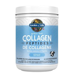 Garden Of Life Grass Fed Collagen Peptides Unflavoured 560g