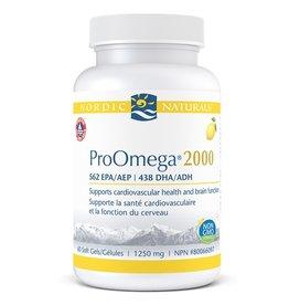 Nordic Naturals Pro Omega 2000 60 softgels