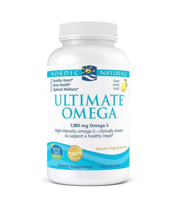 Ultimate Omega 1000mg 120 softgels