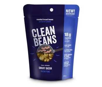 Clean Beans Smoky Bacon 85g