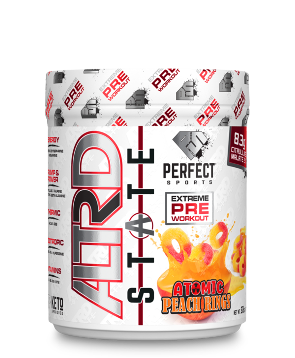 Altered State Preworkout Atomic Peach Rings 376g