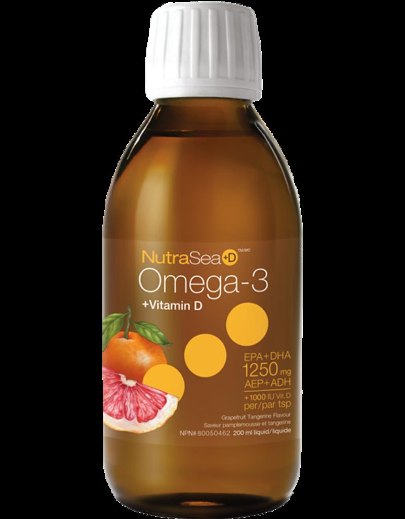 NutraSea NutraSea Omega 3 + D Grapefruit Tangerine 200ml