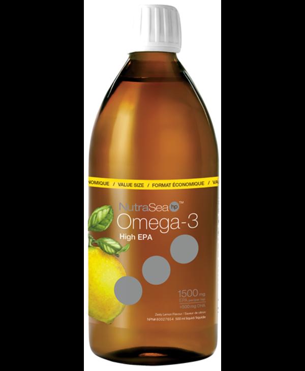NutraSea Omega 3 HP Lemon 500ml