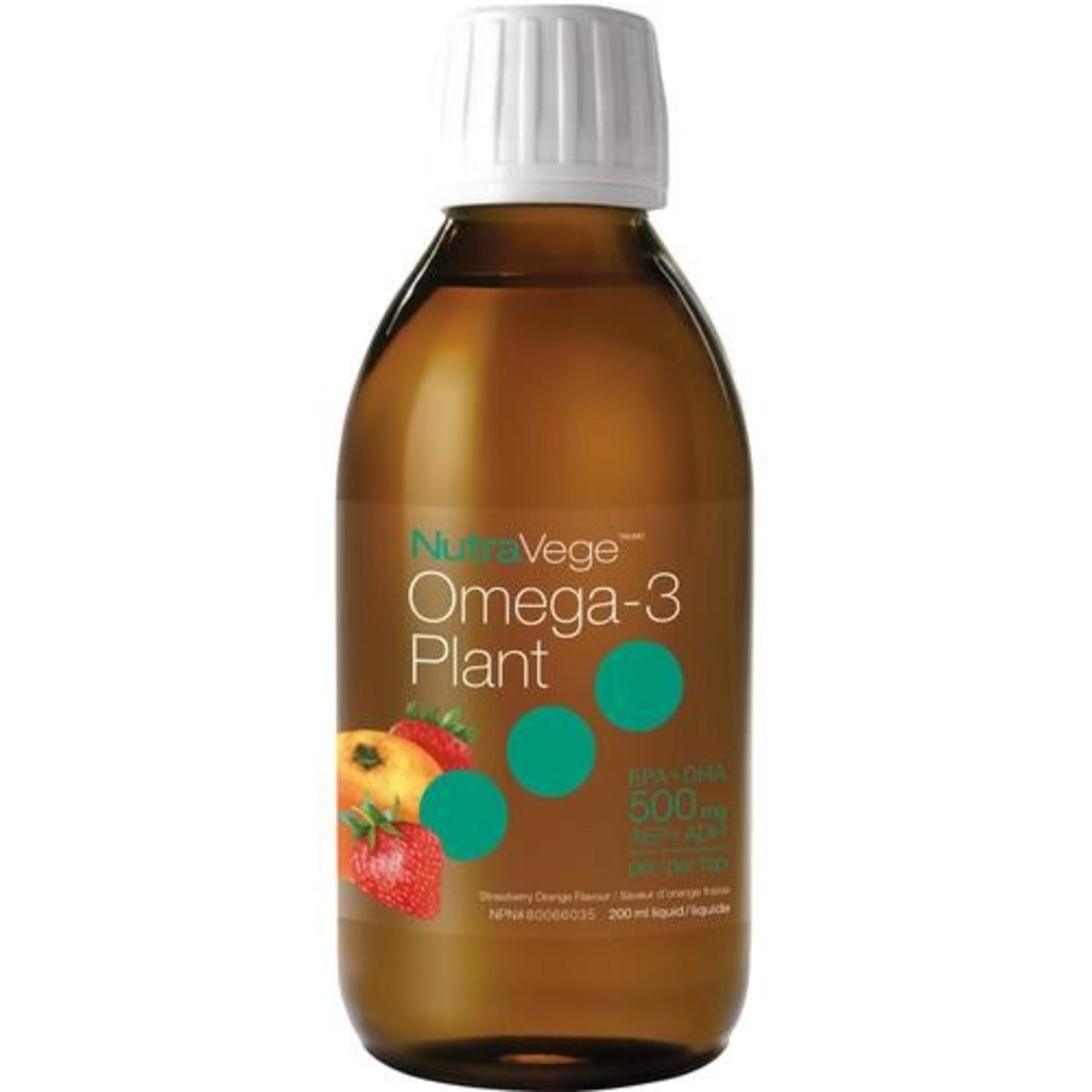 Nature's Way NutraVege Omega-3 Plant - Strawberry Orange 200ml