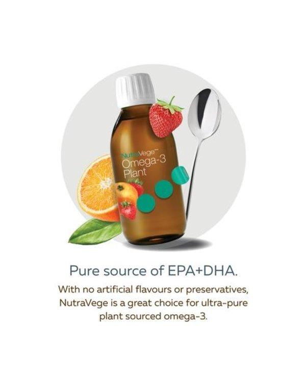 NutraVege Omega-3 Plant - Strawberry Orange 200ml