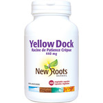 New Roots Yellow Dock 440mg 100 vcaps