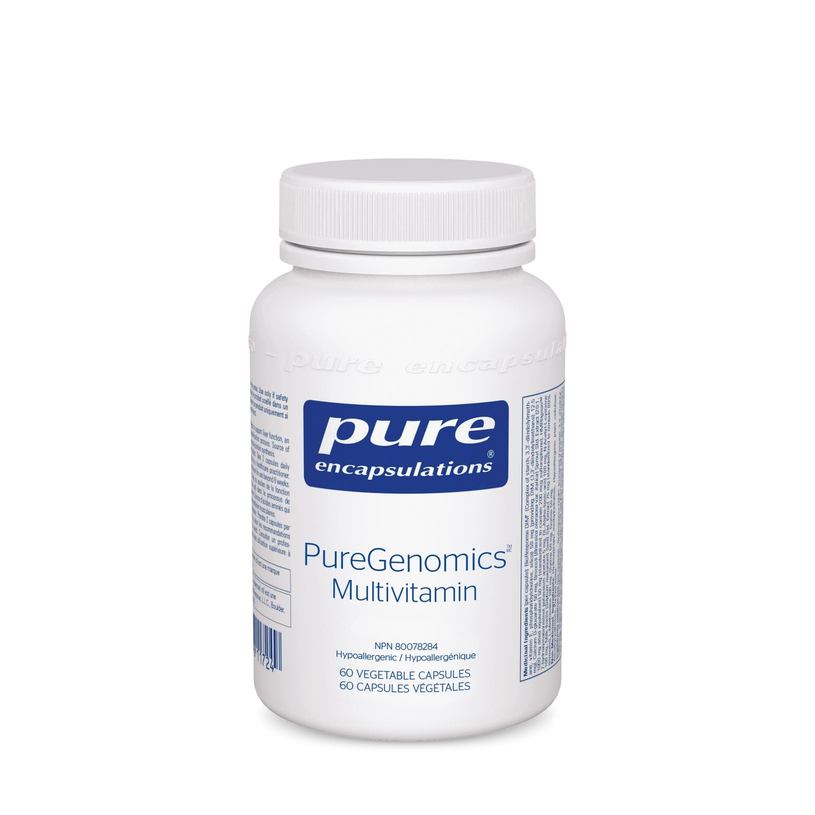 Pure Encapsulations PureGenomics Multivitamin 60 caps