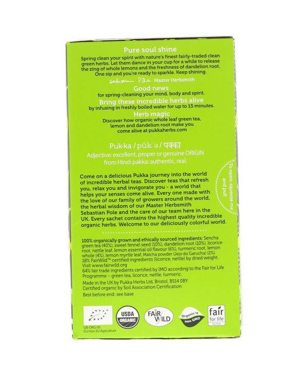 Clean Matcha Green 20 Tea Bags