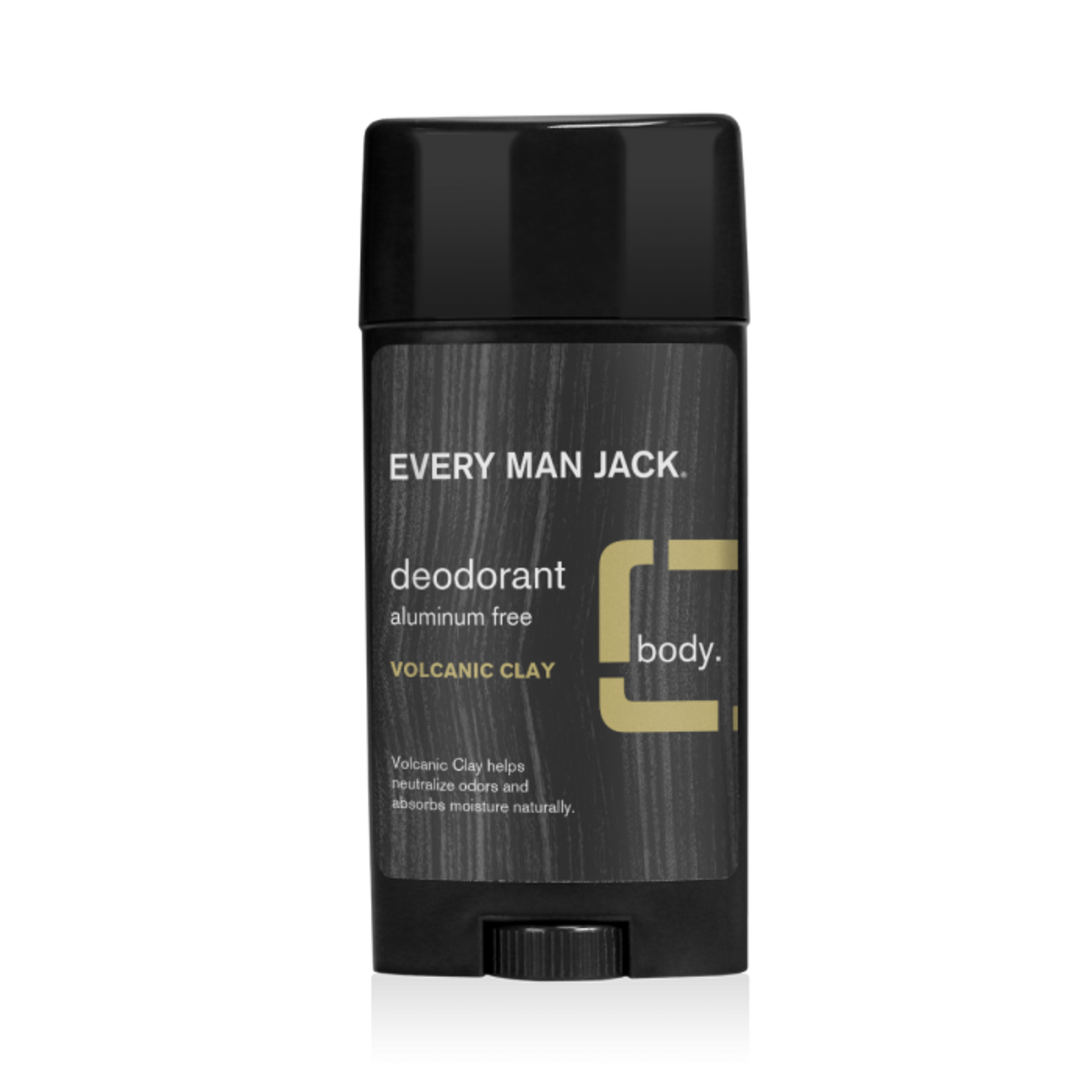 Every Man Jack Natural Deodorant- Volcanic Clay 76.5g