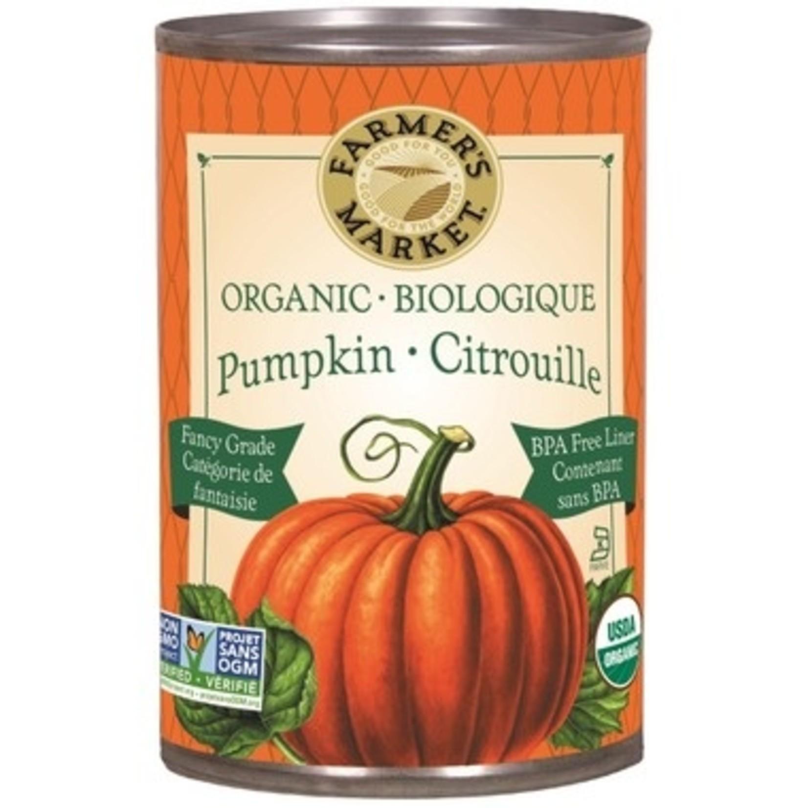 Farmer's Market Organic Pumpkin Puree 398ml