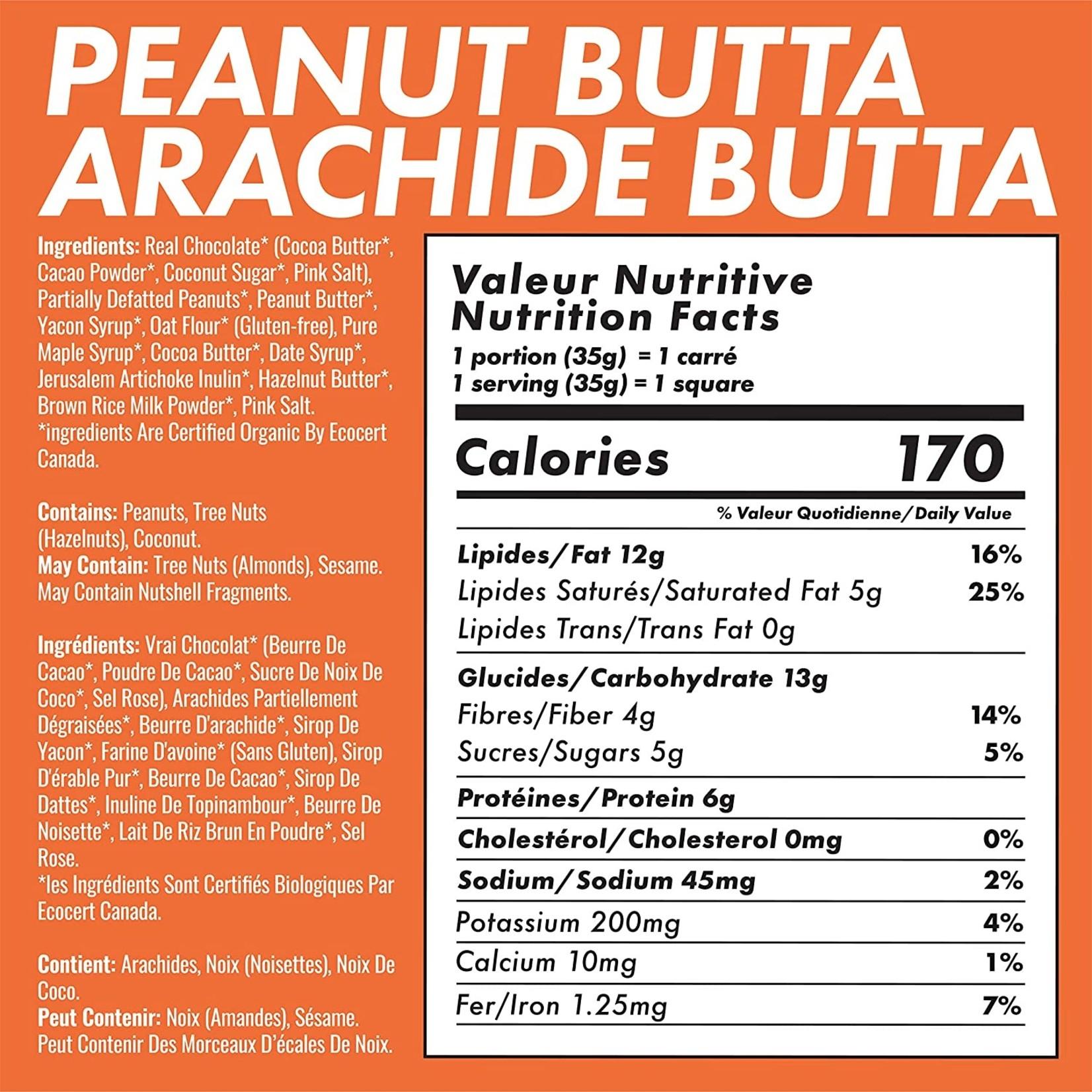 Mid-Day Squares Chocolate Squares - Peanut Butta 70g