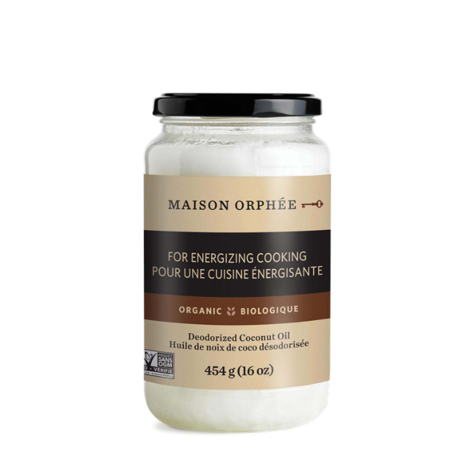 Maison Orphee Organic Coconut Oil Deodorized 454g