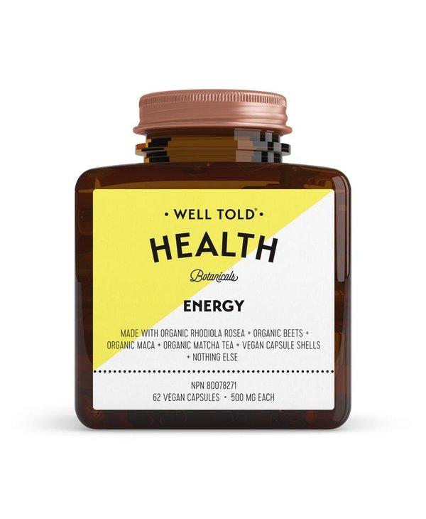 Energy 62 caps