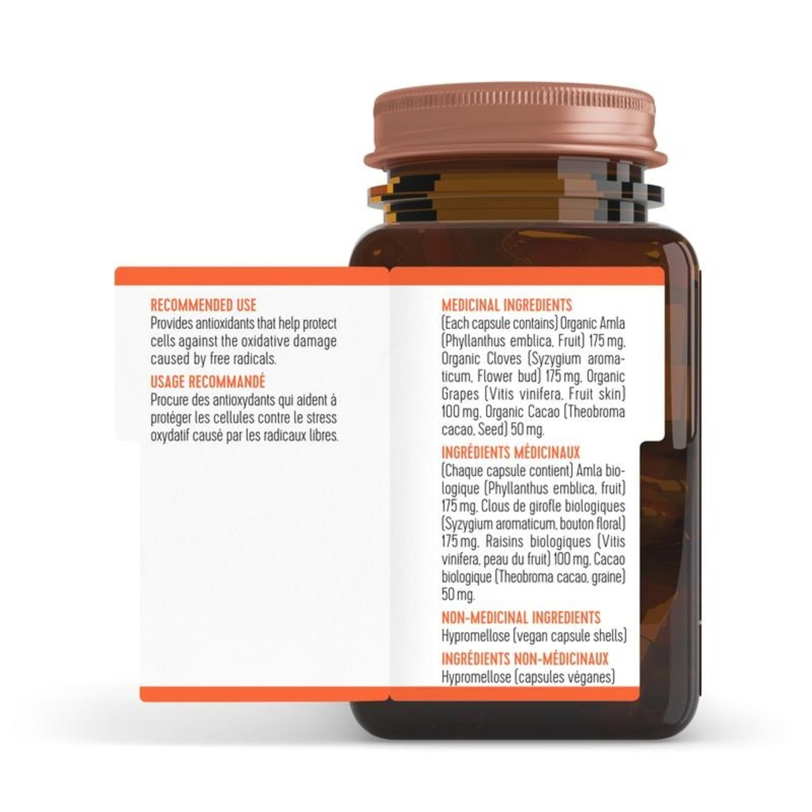 Well Told Health Antioxidant 62 vcaps
