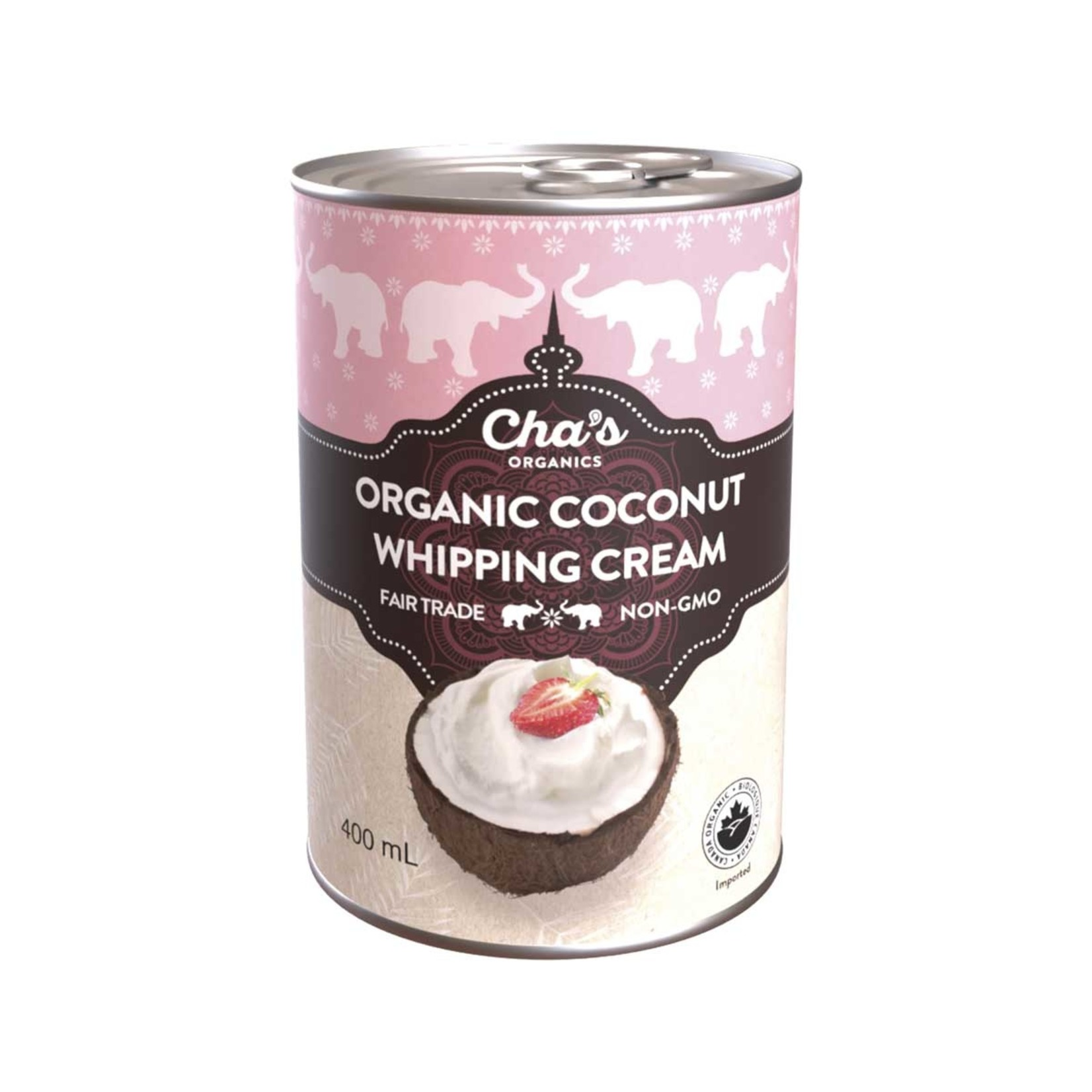 Cha's Organics Organic Coconut Whipping Cream 400ml