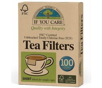 Unbleached Tea Filters - 100