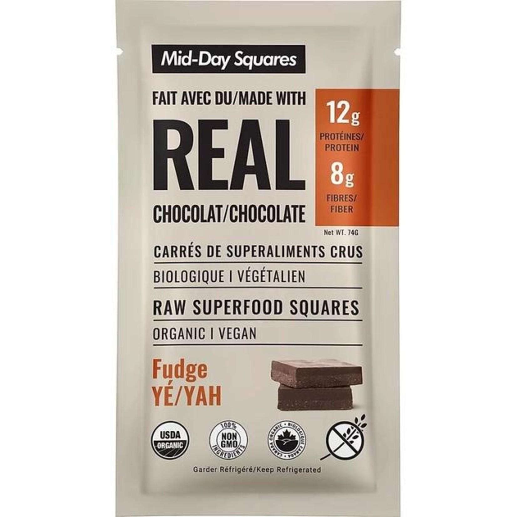 Mid-Day Squares Chocolate Squares- Fudge Yah