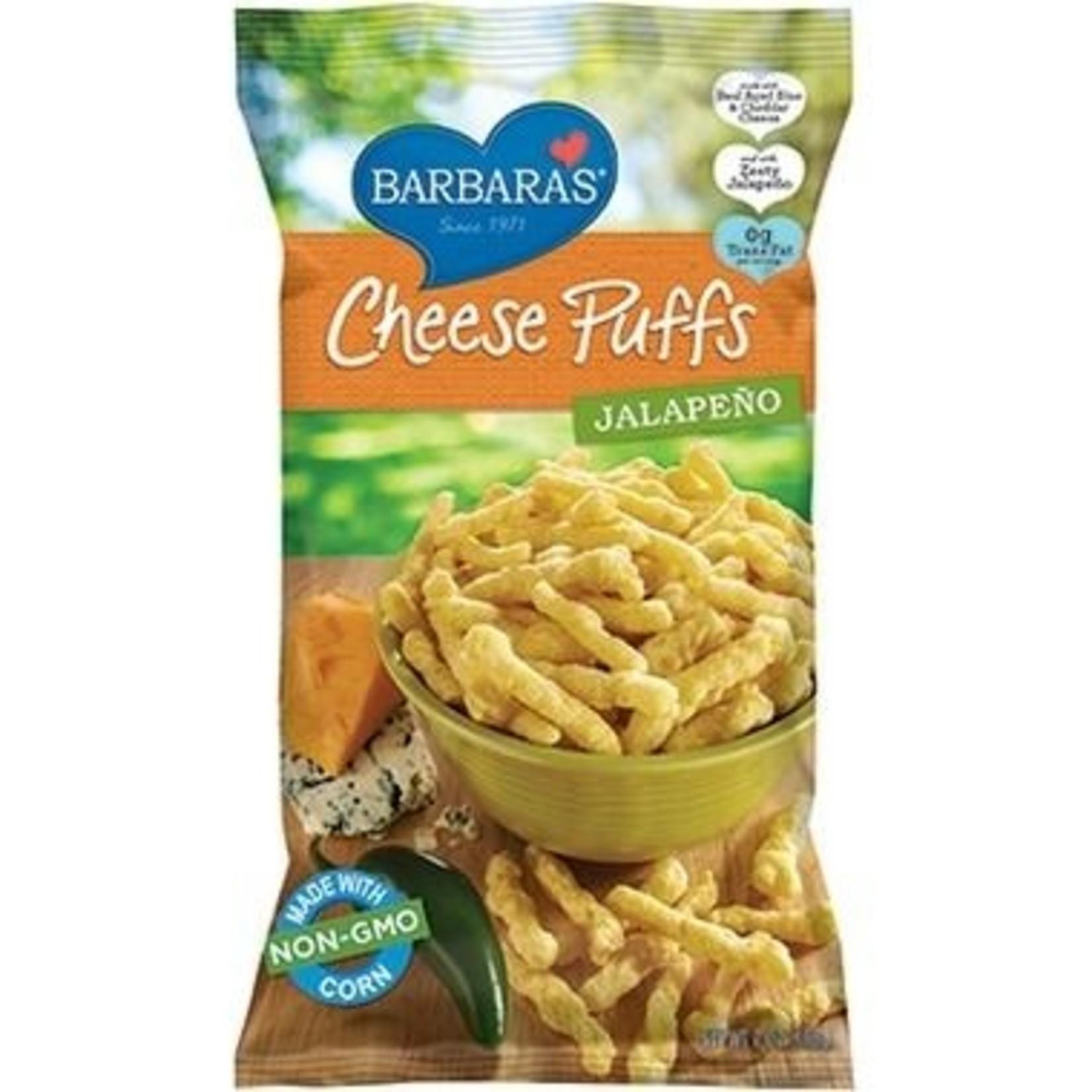 Barbara's Cheez Puffs- Jalapeno 198g