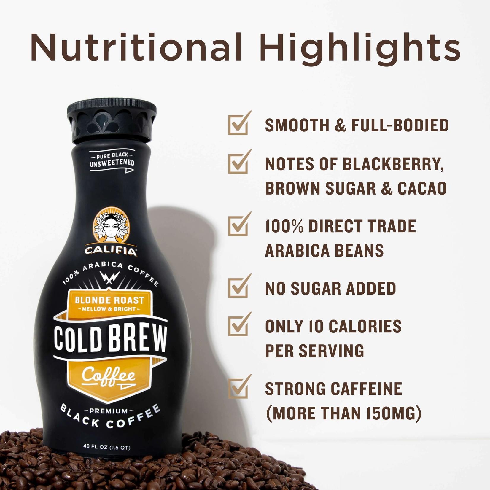 Califia Cold Brew Coffee Blonde Roast 1.4L