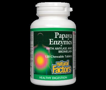 Papaya Enzyme Chewable 60 tabs
