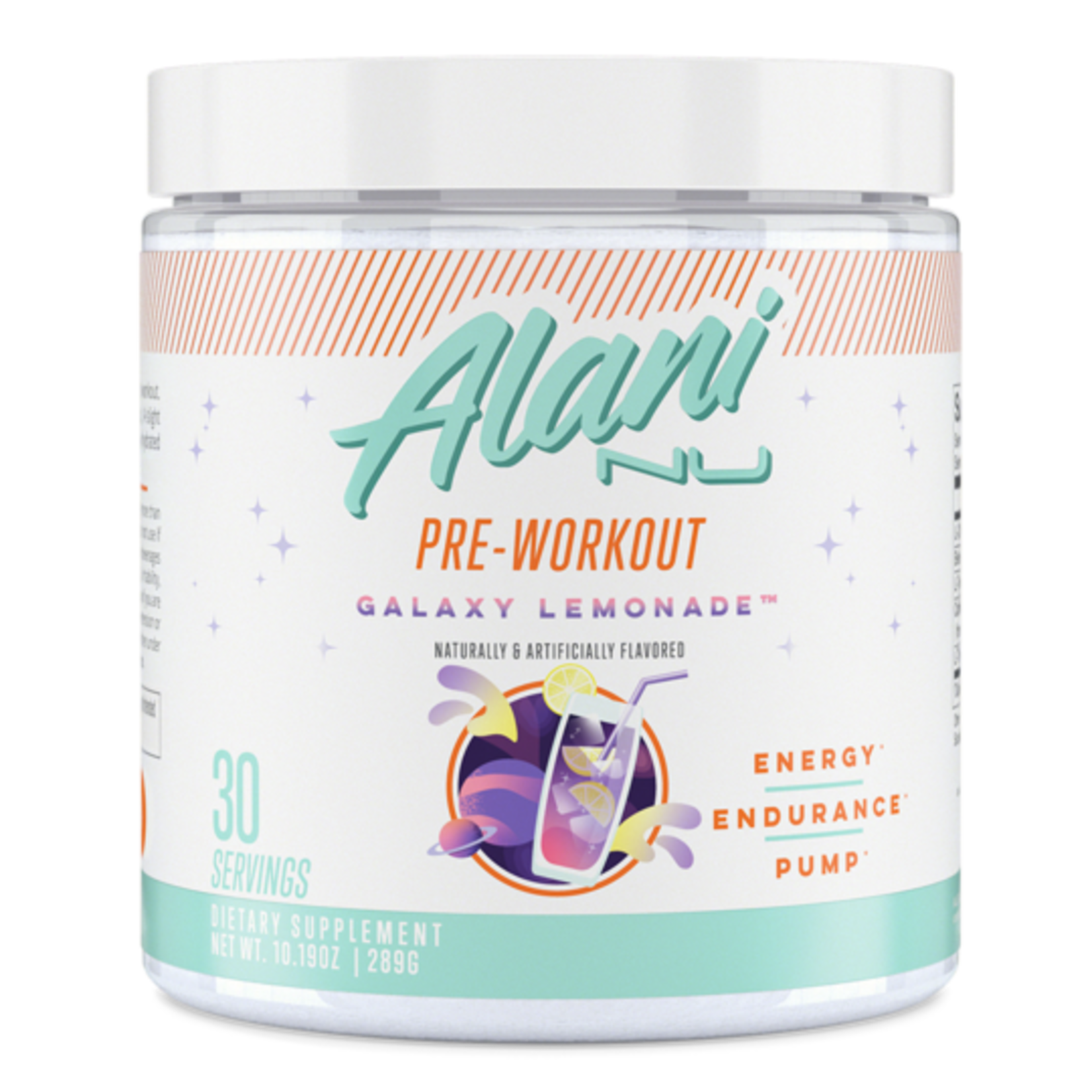 Alani Nu Pre Workout Galaxy Lemonade 289g