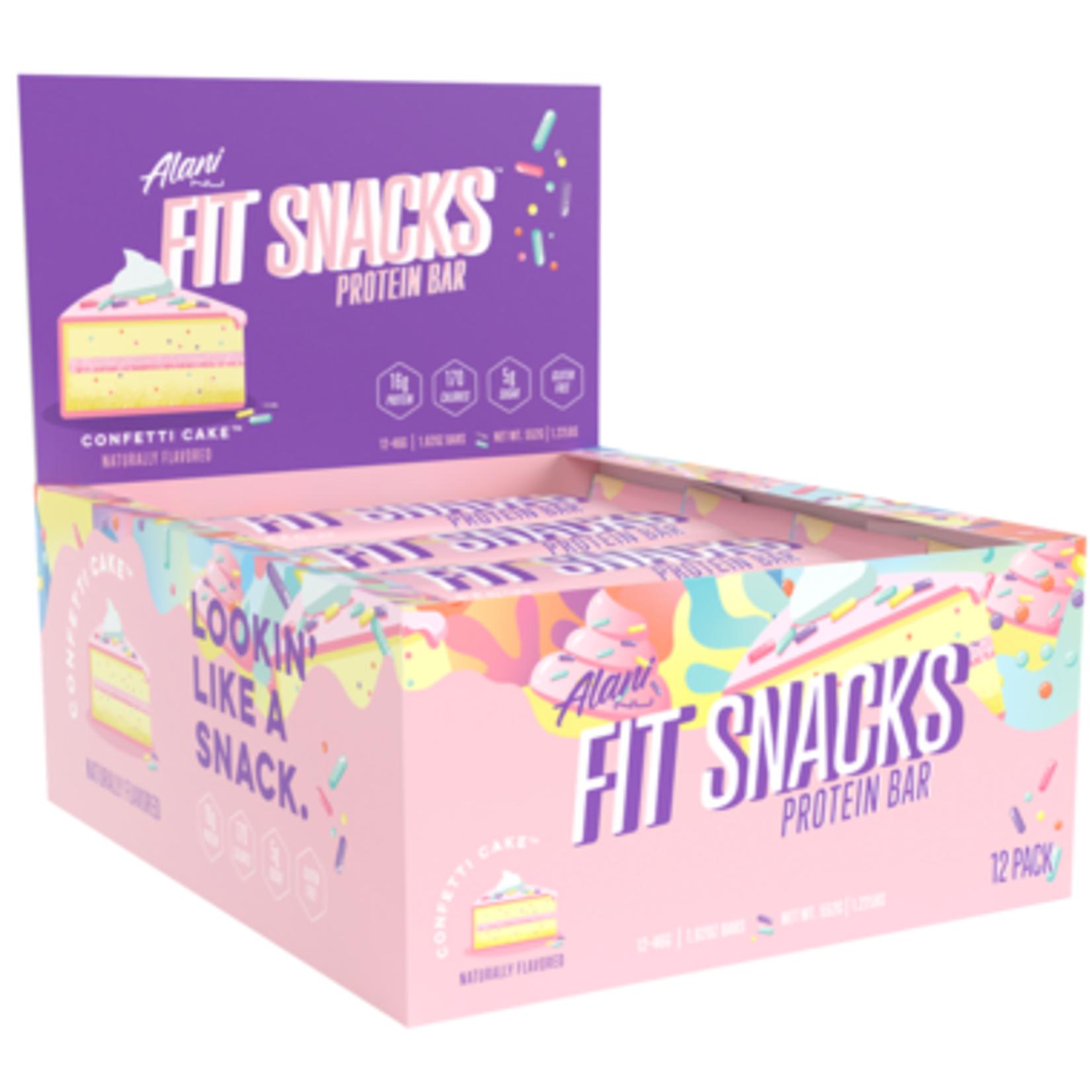 Alani Nu Fit Snacks Protein Bar - Confetti Cake