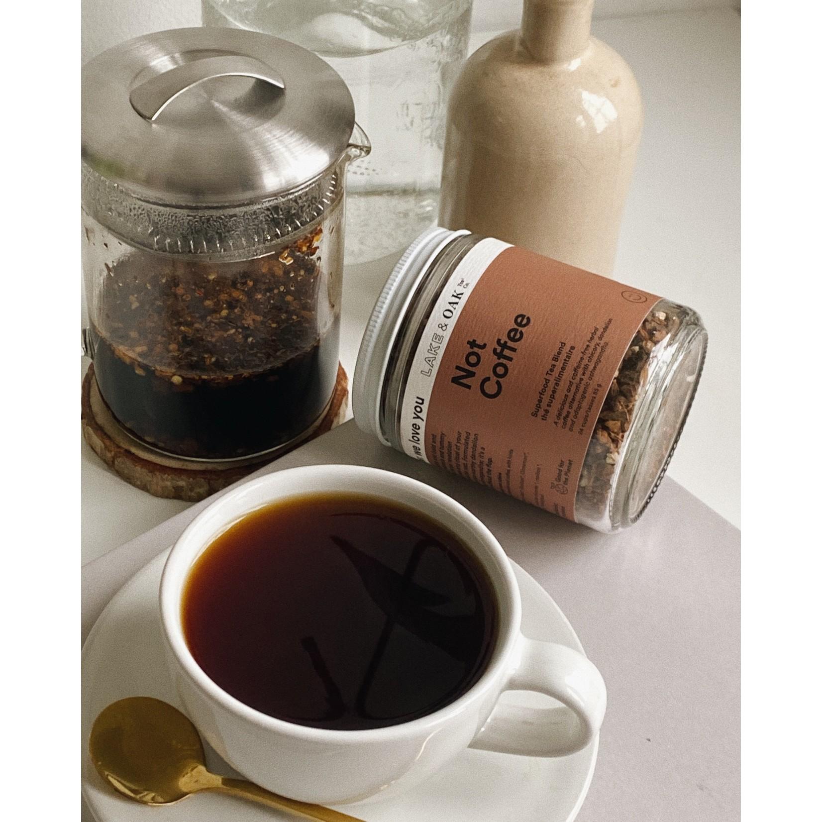 Lake and Oak Not Coffee Superfood Tea Blend 85g